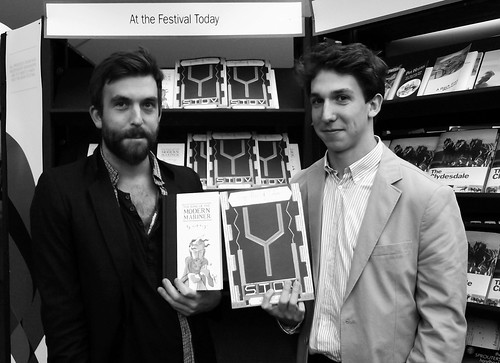Edinburgh International Book Festival - Nick Hayes & William Goldsmith 011