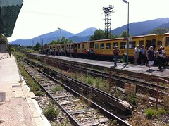 Train jaune (Yellow train) for Pyrenean mountains
