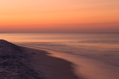 ocean beach gulfofmexico sunrise waves gulf florida destin hendersonbeachstatepark