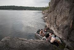 Leaving the Cliffs