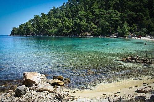 sea mare greece grecia canoneos spiaggia pini thassos smeraldo scattifotografici