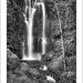 Munduk Waterfall in mono