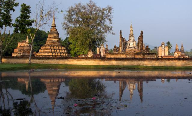 Sukhothai at dawn