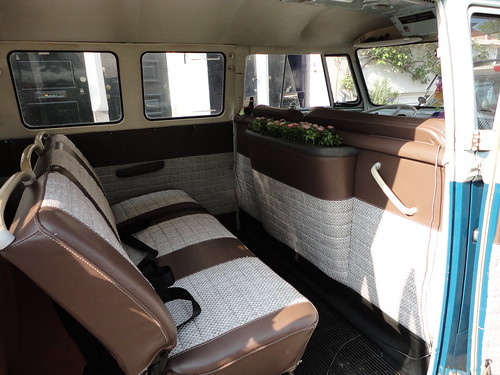 Bekleding volkswagen transporter 1965 dominique scholtes for Interieur westfalia t3
