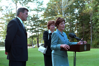 911: Mrs. Laura Bush at Memorial Service, 09/17/2001.