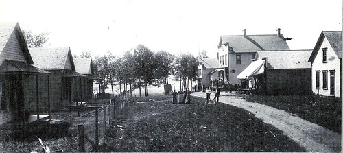 View of Tiedtville's Business District, circa 1890s | by IndianPrairie