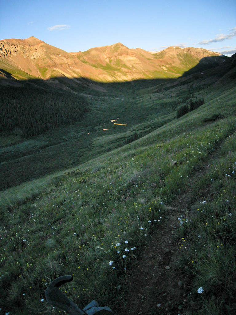 Carson Saddle, Lost Trail Creek