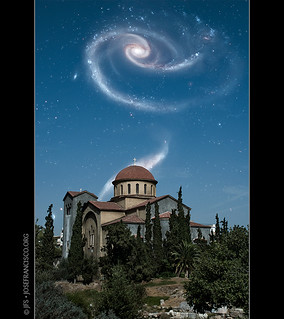 Interacting Galaxies over Kerameikos