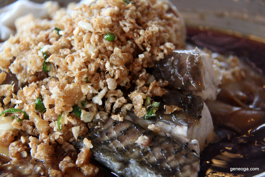 Cia Xiang Seafood Restaurant's steamed fish with 'hor fun'