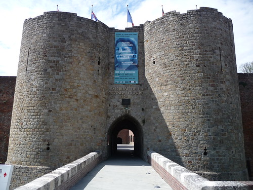 Entrance to Museum of the Great War Peronne France