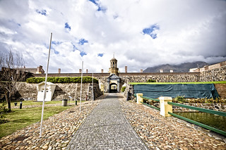 Image of Castle of Good Hope near Cape Town. castle contrast hope town high nikon good d south victor cape afrika 90 südafrika kapstadt bergmann vicbergmann