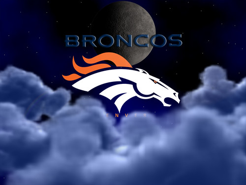 Denver Broncos Above The Clouds Wallpaper 800 x 600