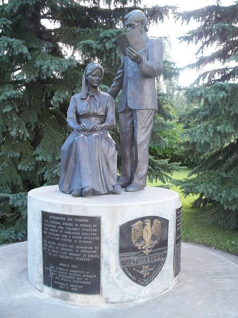 Icelandic Pioneer Memorial, Elfros, SK