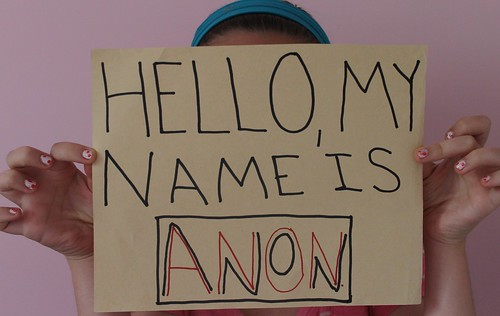 Hello, my name is anon.