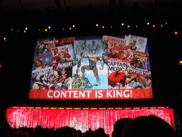 D23 Expo 2011 - Marvel panel - Content is King!