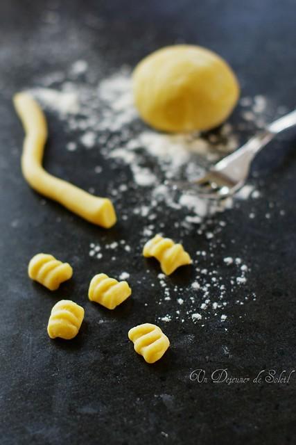 Making gnocchi...