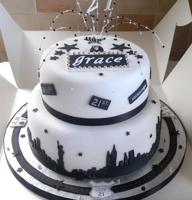 Images Of Birthday Cake New : New York Theme 21st Birthday Cake Flickr - Photo Sharing!