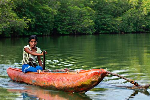Madu Ganga River, Sri Lanka