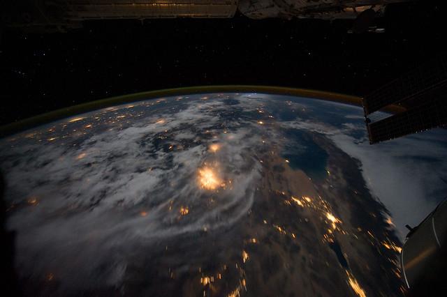 nasa night earth mexico - photo #3