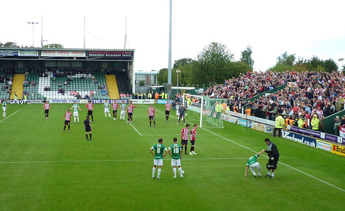 Huish Park, Yeovil 27 August 2011