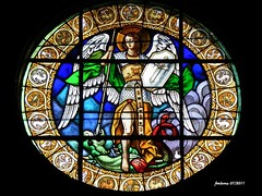 Palencia -San Miguel vidriera