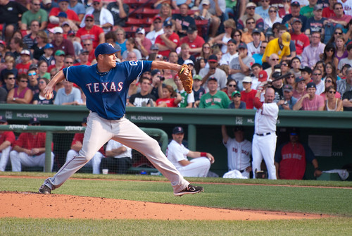 Colby Lewis from the Stretch
