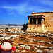 Ponyo at Acropolis of Athens, Greece