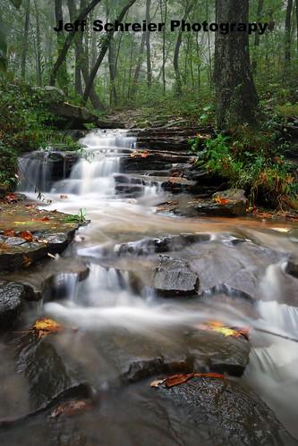 fog waterfall huntsville alabama monte sano