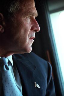 911: President George W. Bush in Pentagon Flyover, 09/14/2001.