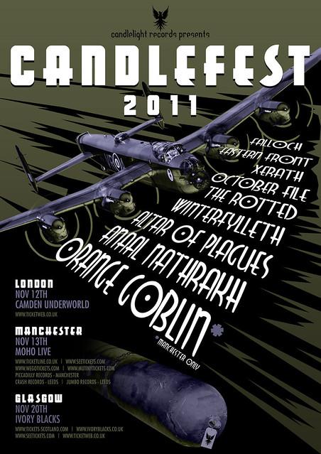 Candlefest live gig review camden underworld www.metalgigs.co.uk gig listings