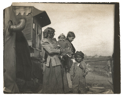 Depression Era Mother With Children