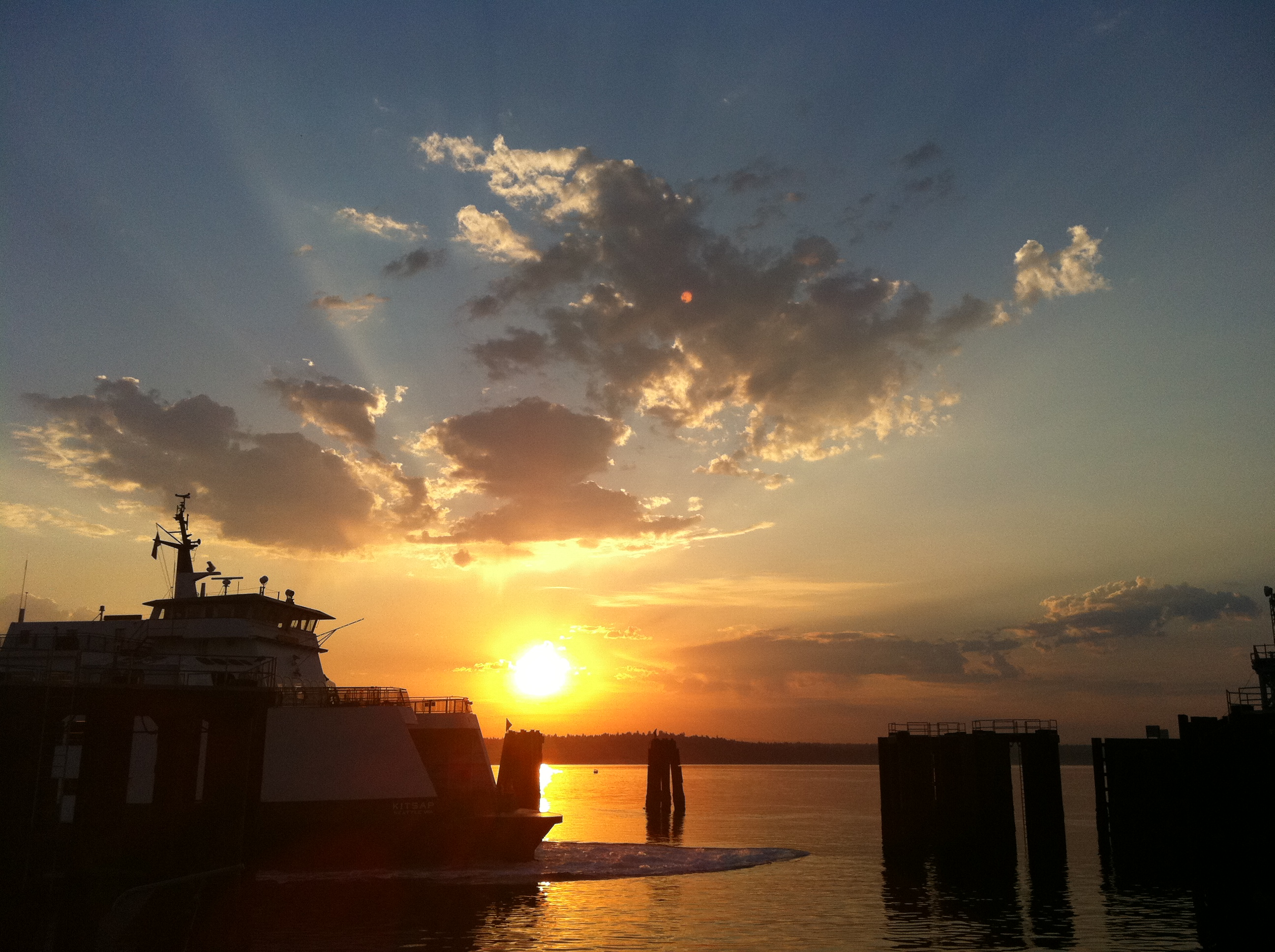 Ferry From Manchester To Vashon Island