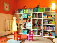 Kids room expedit shelves flickr photo sharing for Amenagement petite chambre 9m2