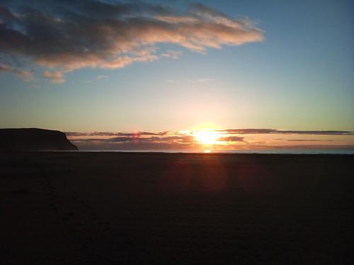 cameraphone sunset beach phonecam iceland sonyericsson ísland auroraborealis westfjords breiðavík xperia xperia2day