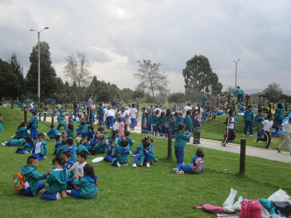 Bogota Colombia Central Park