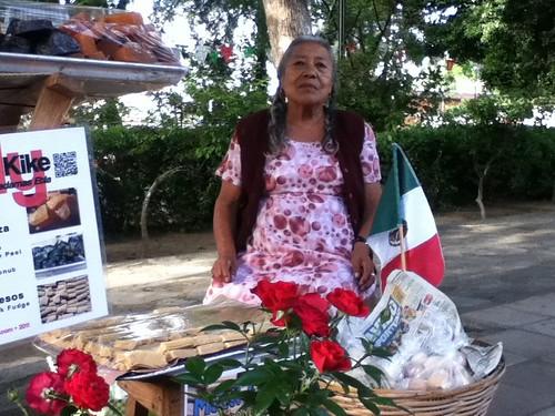 Sara's Flag @ Pochimilco 09.2011