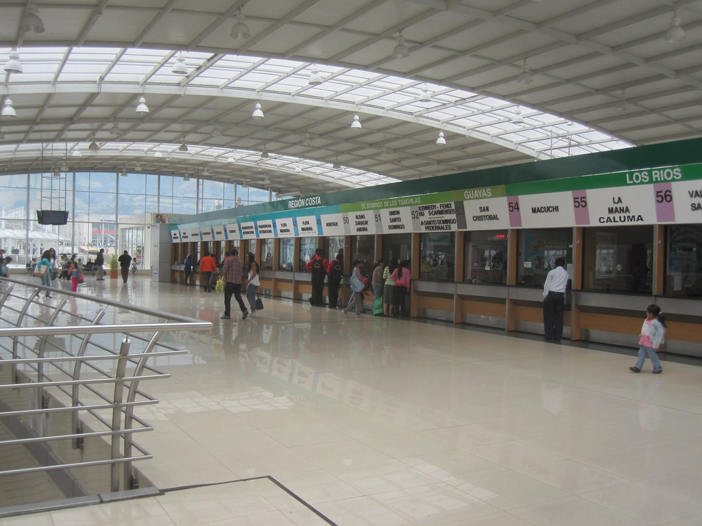 Quito Ecuador Bus Station