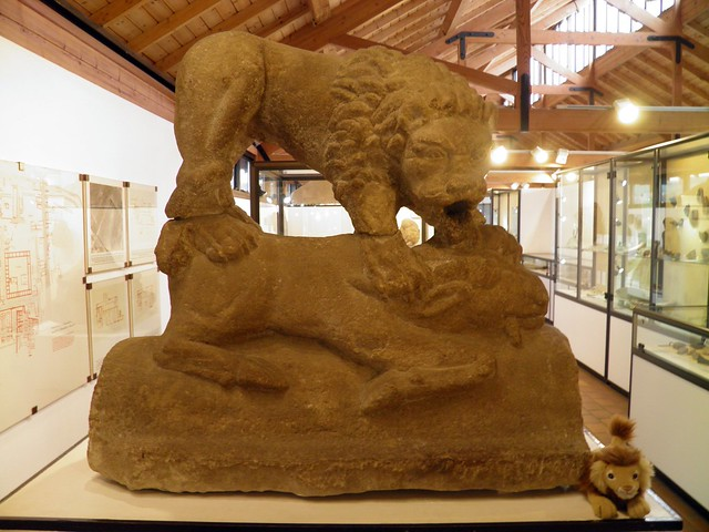 The Corbridge Lion, Corbridge Museum