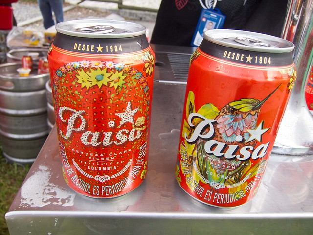 "Pilsen beer's special ""Paisa"" can is produced every year around La Feria de las Flores"