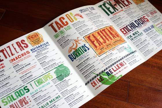 Dise o de men s para todo tipo de restaurantes for Disenos de menus para restaurantes