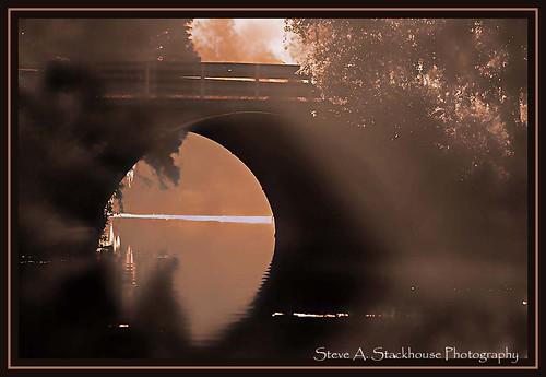 bridge monochrome landscape florida fl floralcity