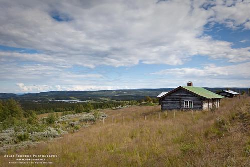 sky mountain norway forest norge woods himmel skog fjell seter 2011 valdres oppland søraurdal høvreslia