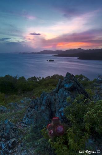 sunset sun st set john island us head virgin trail rams ram ramshead usvi virginisland usvirginisland ramhead