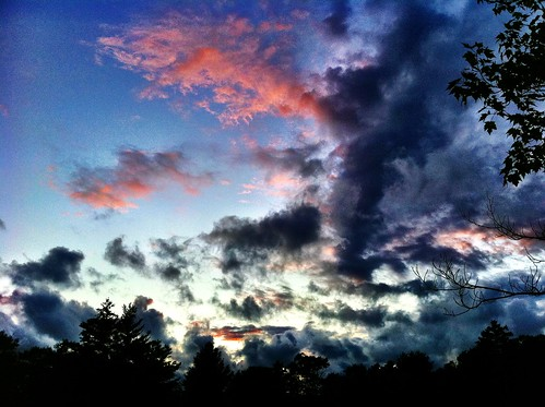 camping sunset sky canada nature clouds iphone