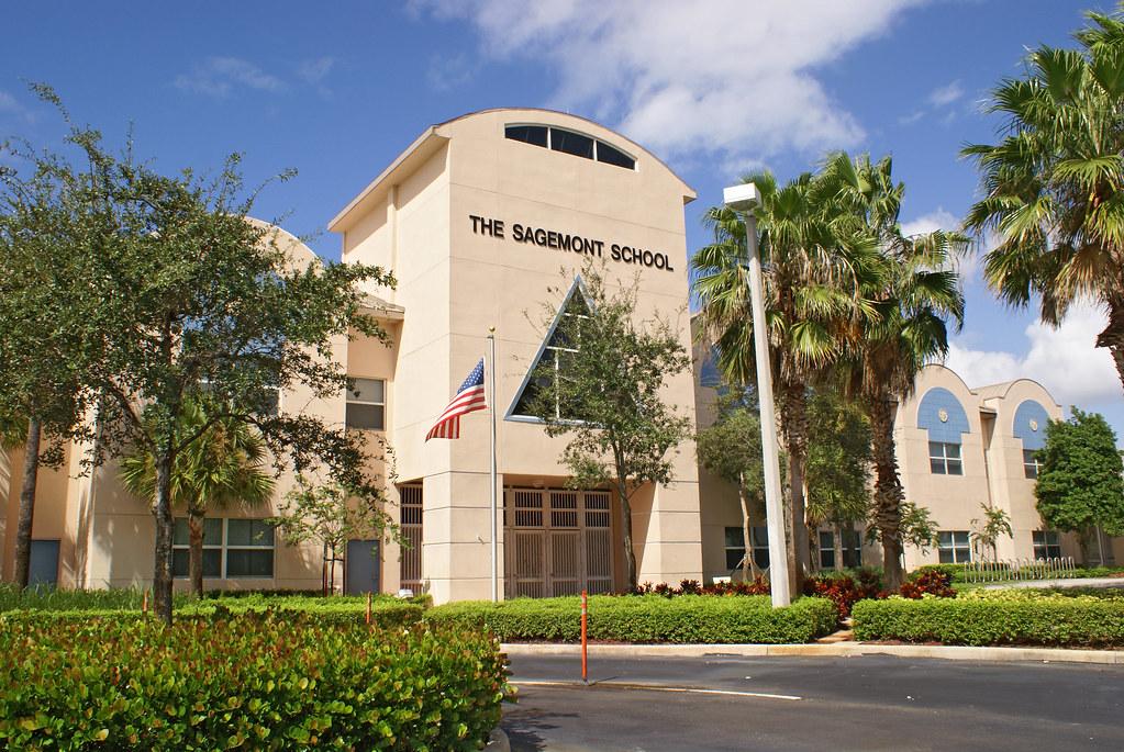 The Sagemont School, Upper School Campus, located on Glades Circle.