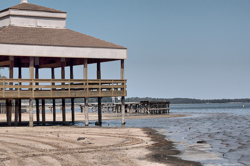 Gazebo on Lake Houston