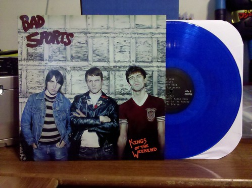 Bad Sports - Kings Of The Weekend LP - Blue Vinyl /200