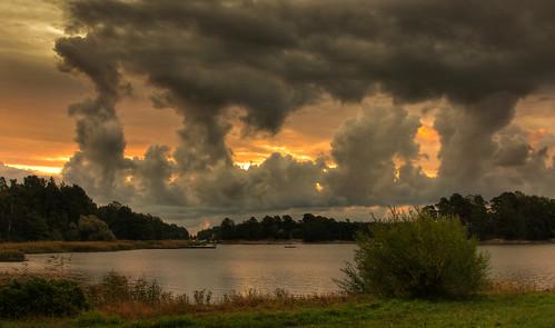 autumn sea cloud sunrise espoo finland shore matinkylä rantaraitti artistoftheyearlevel3 artistoftheyearlevel4