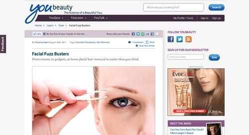 Facial Hair Removal   YouBeauty.com
