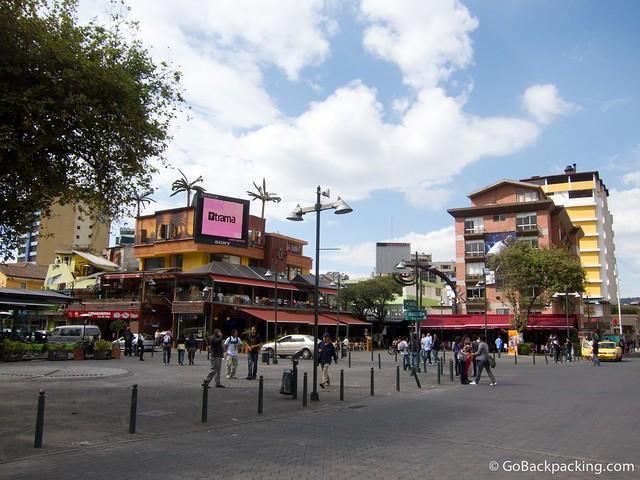 Plaza Foch in Quito